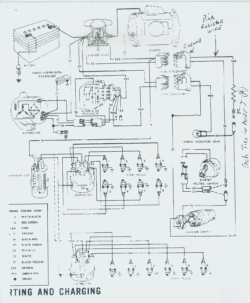 Wirea on 1967 Mustang Instrument Cluster Wiring Diagram