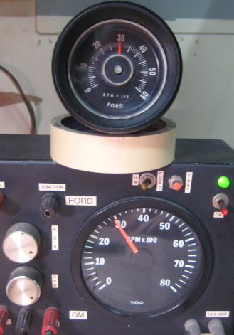 tachometer repair restoration for 1965 1966 mustang classic cars 1966 mustang rally pac tachometers can be converted to 3 wire as well