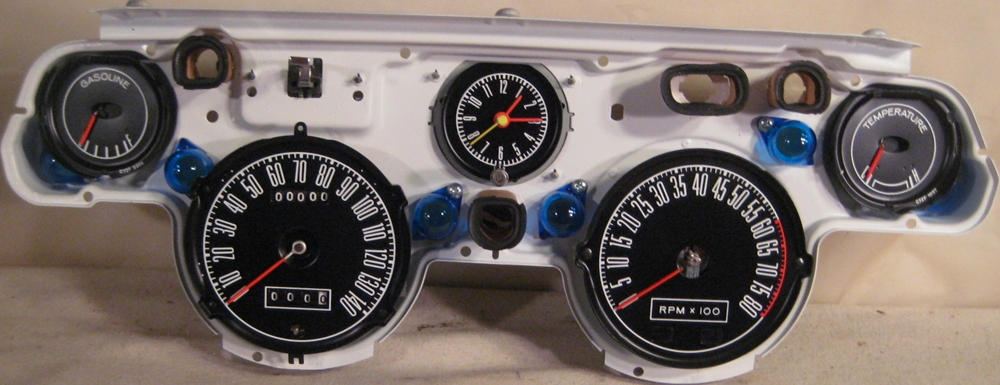 tachometer repair restotation for mustang classic cars dash 1967 1968 mustang