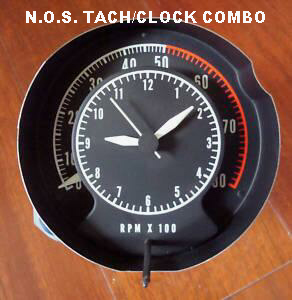 tachometer repair restoration for chrysler classic cars our gauge restorations have the correct part numbers on the dial and the correct color on the tach clock combo just like they came from the factory