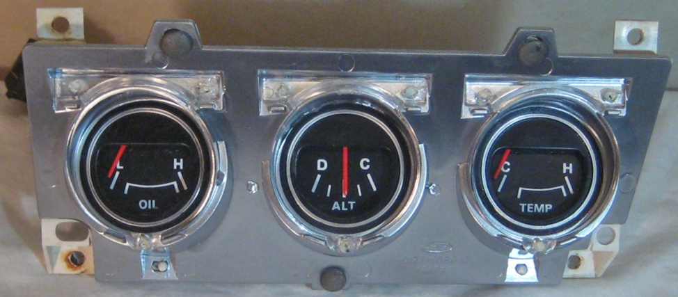 tachman can also re silk screen and repair your 1971-1973 mustang console  gauges!