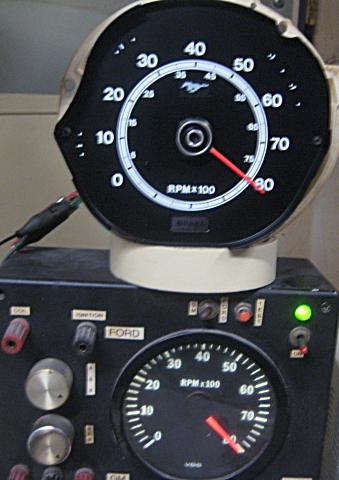 tachometer repair restotation for mustang classic cars rh tachman com Tach Wiring Diagram Motorcycle Tach Wiring