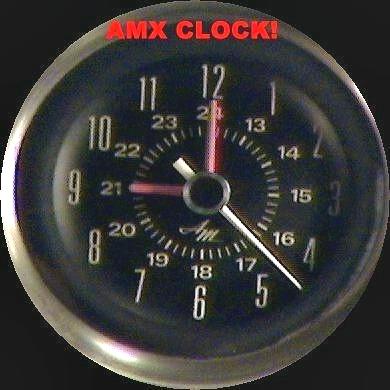 1971-1974 javelin/amx cluster repair and calibration