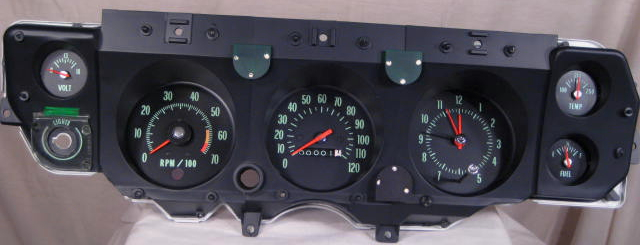 Tachometer repair restoration for chevelle classic cars 1970 chevelle ls 6l 78 cluster restoration with a volt meter publicscrutiny Gallery