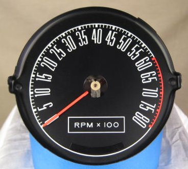 tachometer repair restotation for mustang classic cars tachometer wiring diagram for 1968 ford