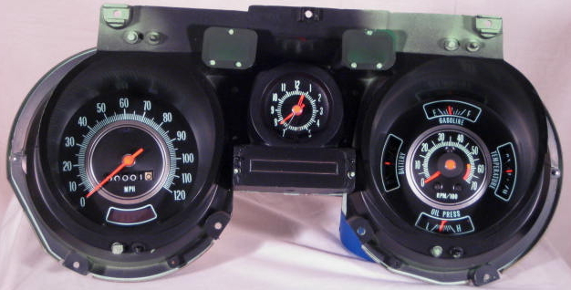 front69 tachometer repair restoration for chevelle classic cars