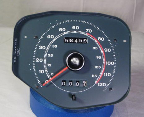 tachometer repair restoration for 1969 1970 mustang classic cars. Black Bedroom Furniture Sets. Home Design Ideas