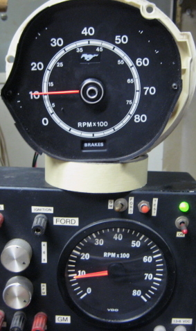tachometer repair restoration for 1971 1972 1973 mustang classic cars rh tachman com Motorcycle Tach Wiring Tach Wiring Diagram