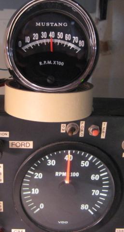 tachometer repair restoration for 1965 1966 mustang. Black Bedroom Furniture Sets. Home Design Ideas