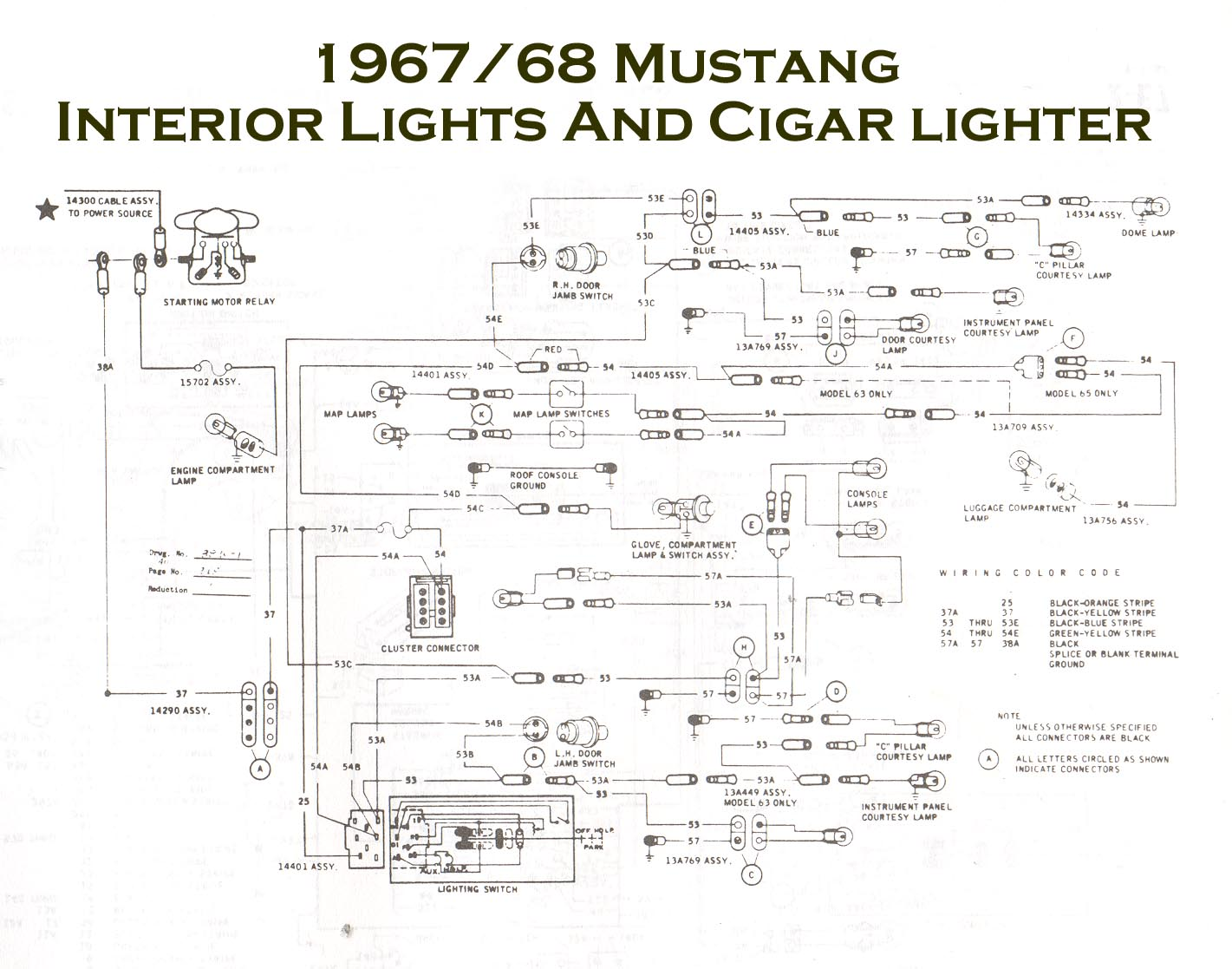 1968 Mustang Tach Wiring Diagram Libraries Icm272 Control Board 67 Gt Tachometer Todays1967 Blog 1967