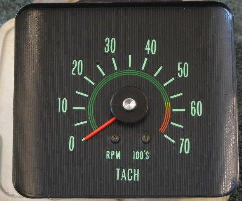 Chevy Truck Impala Oldsmobile Nova Tachometer Repair Restoration